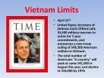 vietnam limits