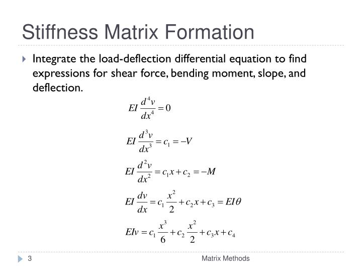 Stiffness matrix formation1