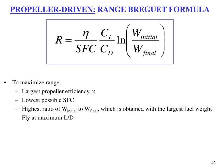 PROPELLER-DRIVEN: