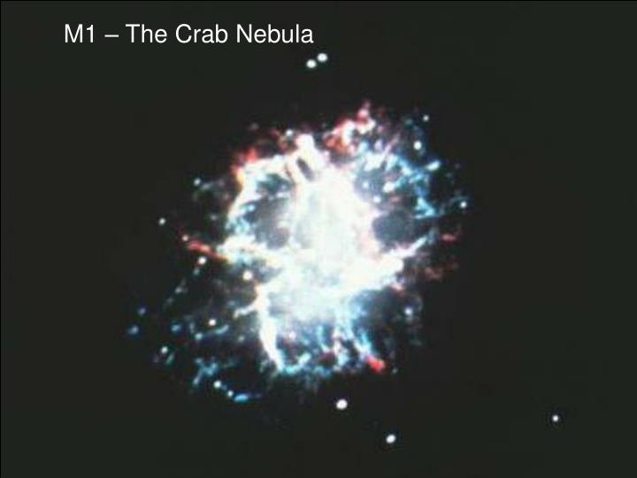 M1 – The Crab Nebula