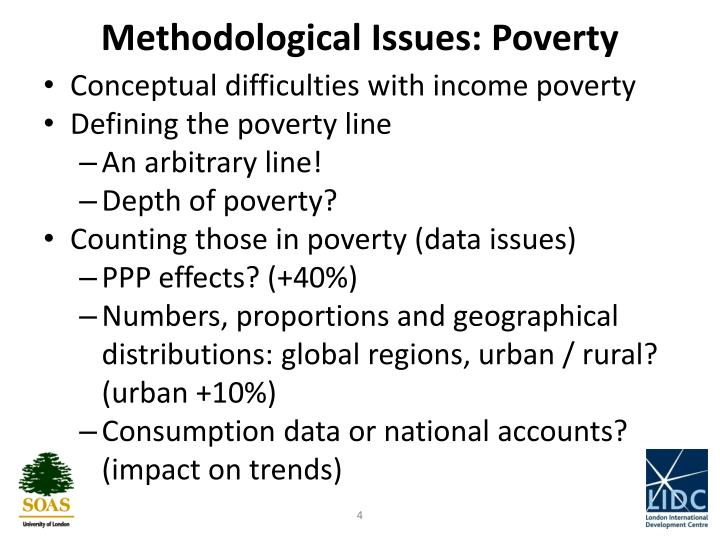 Methodological Issues: Poverty