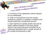 rule 3 50 bank accounts very similar wording for districts1