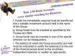 rule 3 50 bank accounts very similar wording for districts2