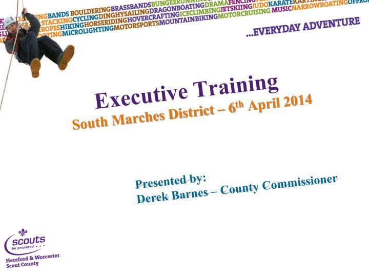 Executive training1