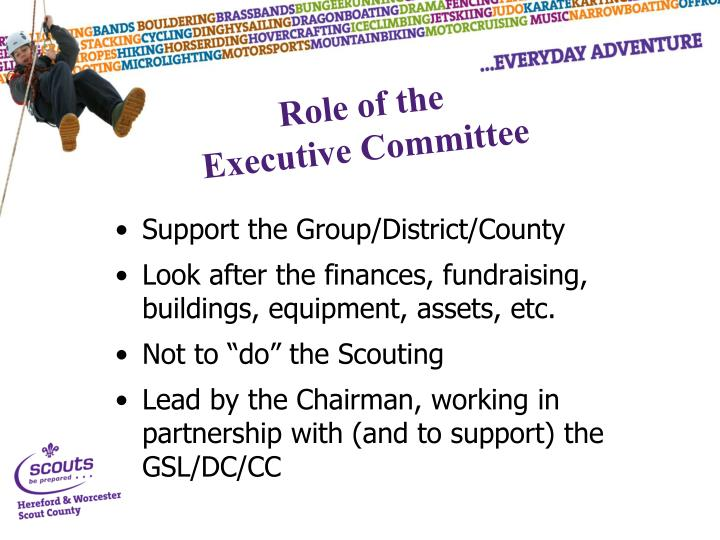 Support the Group/District/County