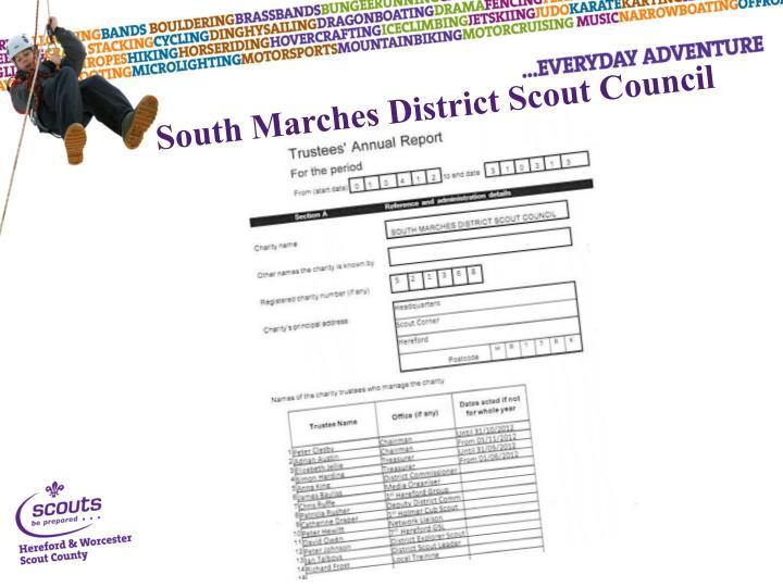 South Marches District Scout Council