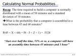 calculating normal probabilities5