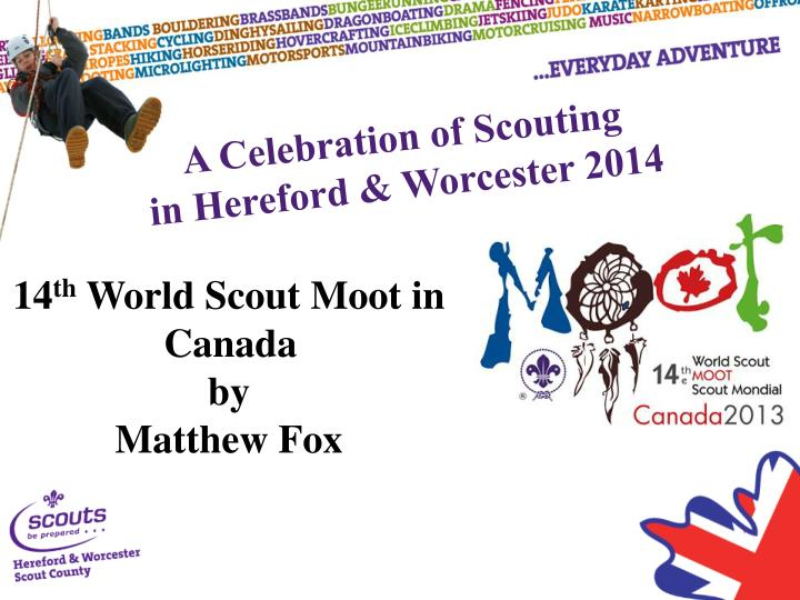 A Celebration of Scouting