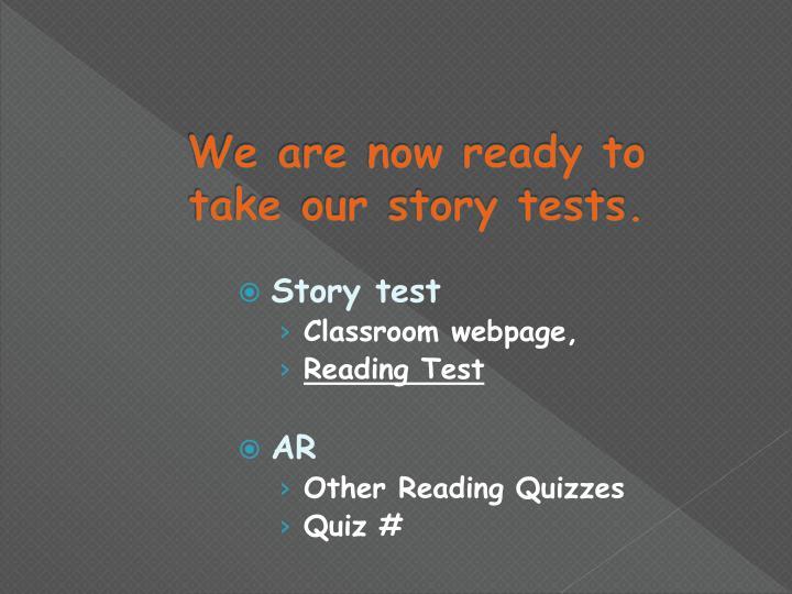 Story test