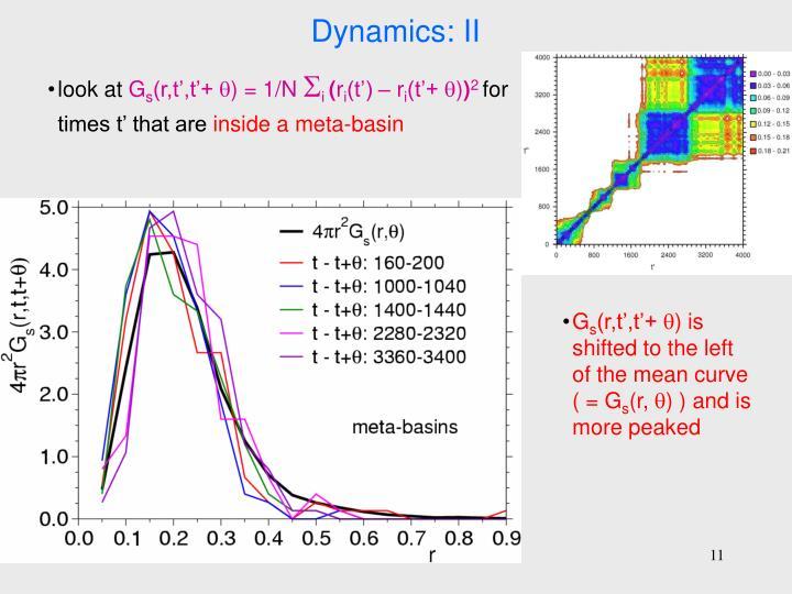 Dynamics: II
