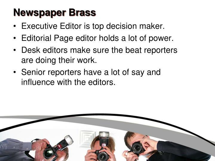 Newspaper Brass