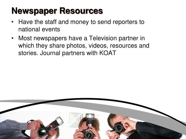 Newspaper Resources