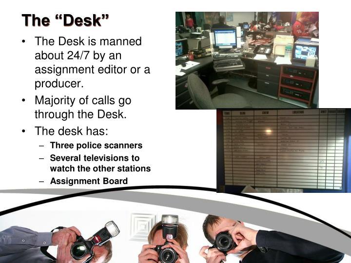 """The """"Desk"""""""