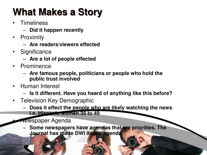 What Makes a Story