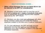 health withdrawal scheme3