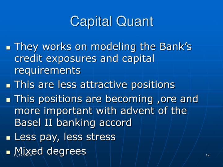 Capital Quant