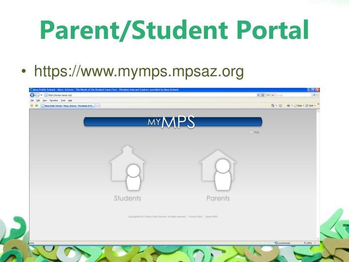 Parent/Student Portal