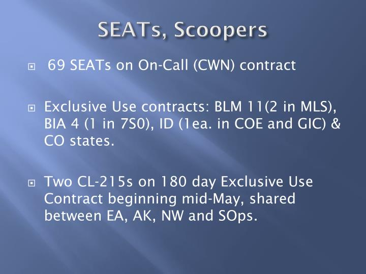 SEATs, Scoopers