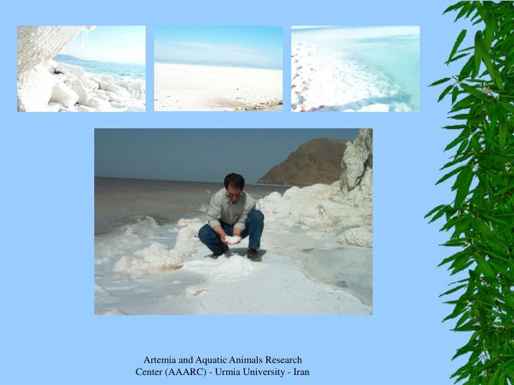 Artemia and Aquatic Animals Research Center (AAARC) - Urmia University - Iran