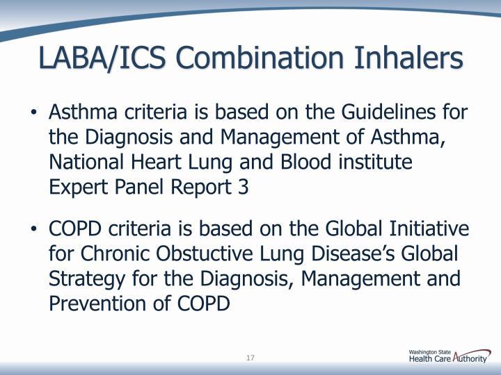 LABA/ICS Combination Inhalers