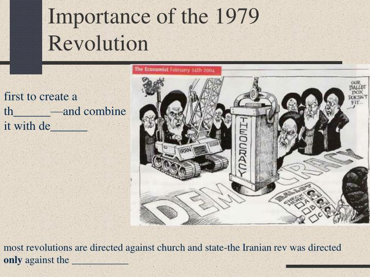 Importance of the 1979 Revolution