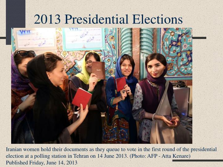2013 Presidential Elections
