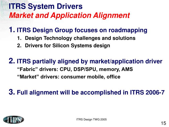 ITRS System Drivers