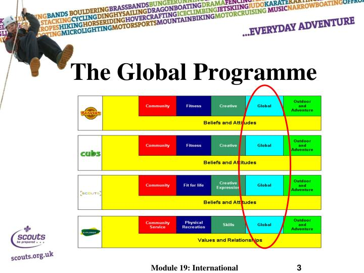 The global programme