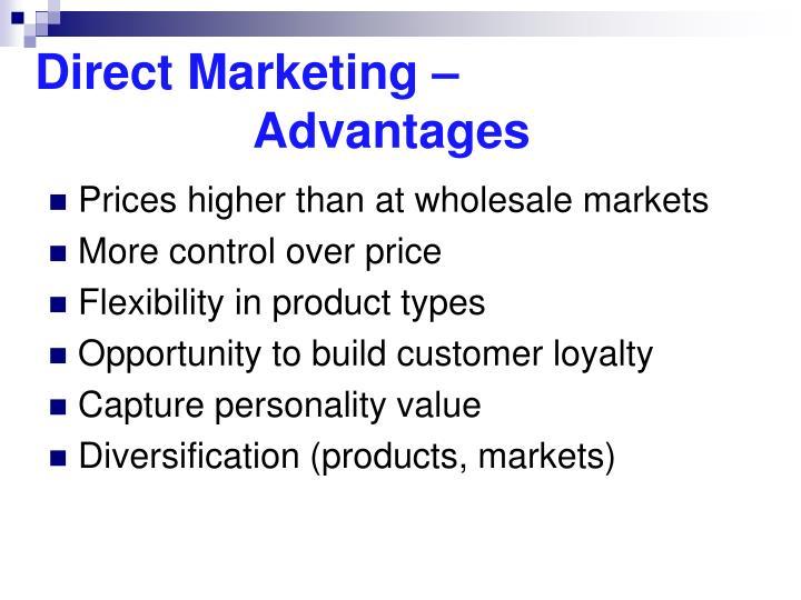 Direct Marketing –