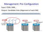 management pre configuration