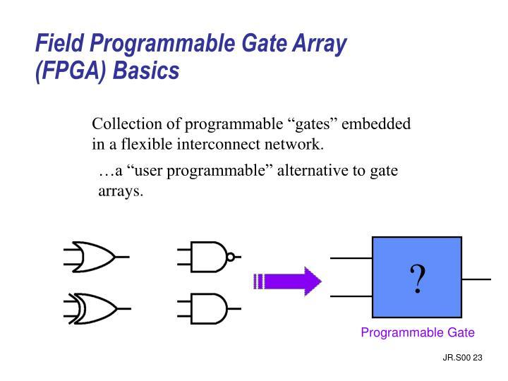 Field Programmable Gate Array (FPGA) Basics