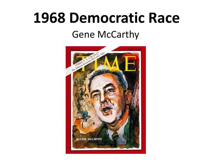 1968 Democratic Race
