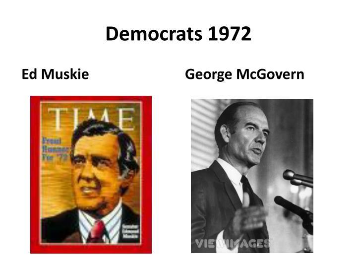 Democrats 1972