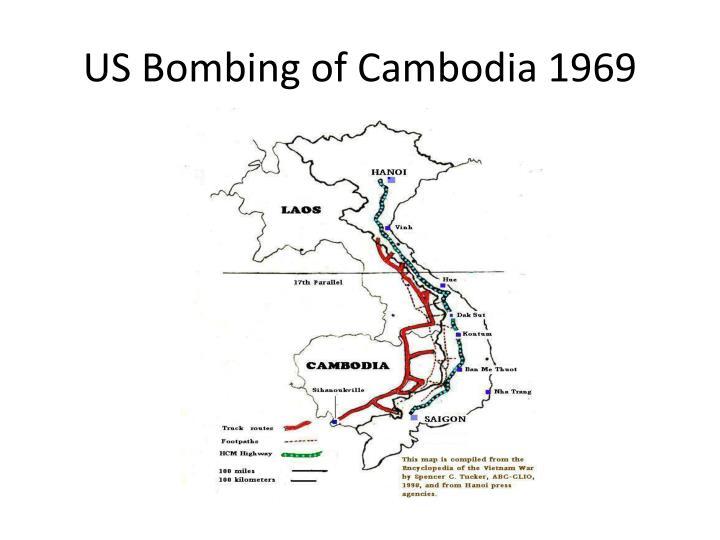 US Bombing of Cambodia 1969