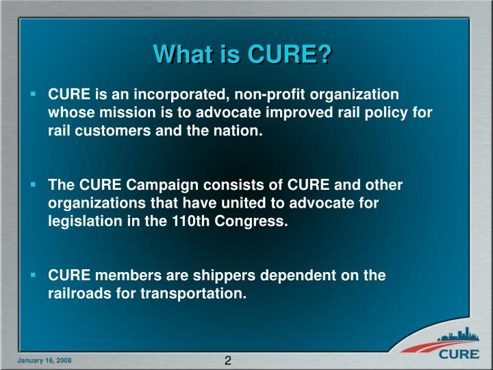 What is cure