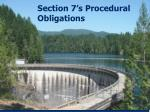 section 7 s procedural obligations