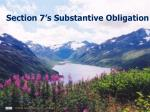 section 7 s substantive obligation
