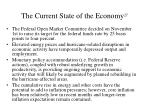 the current state of the economy 27