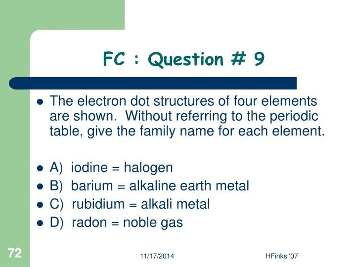 FC : Question # 9