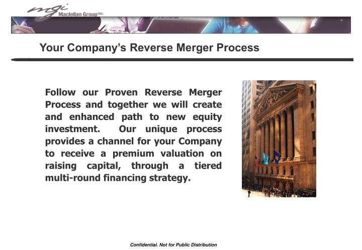 Your Company's Reverse Merger Process