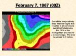 february 7 1967 00z
