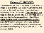 february 7 1967 00z2