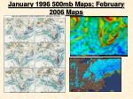 january 1996 500mb maps february 2006 maps