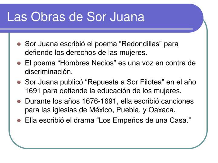 Las Obras de Sor Juana