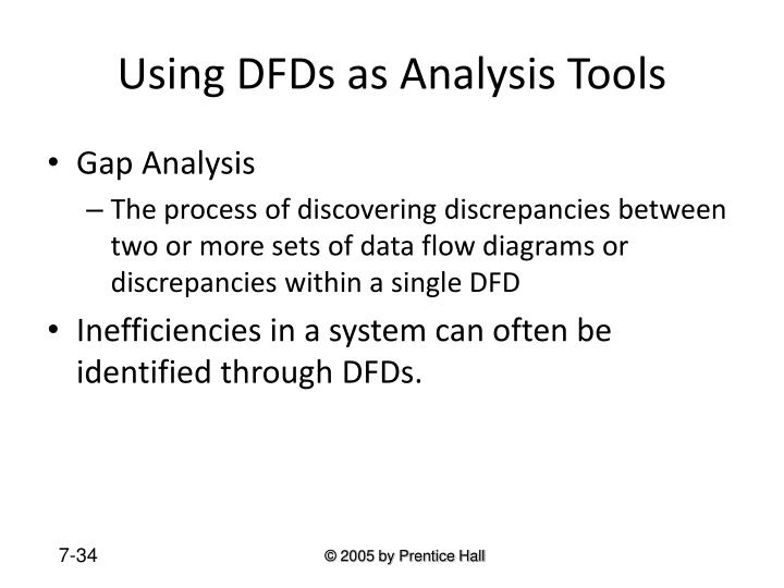 Using DFDs as Analysis Tools