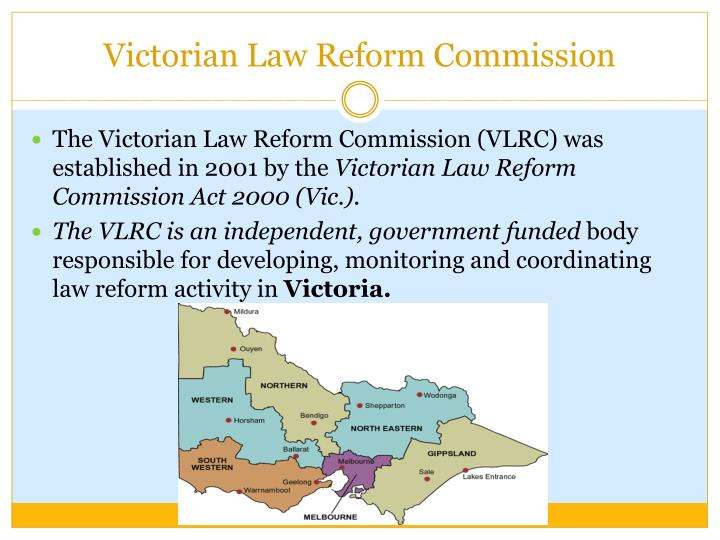 Victorian law reform commission