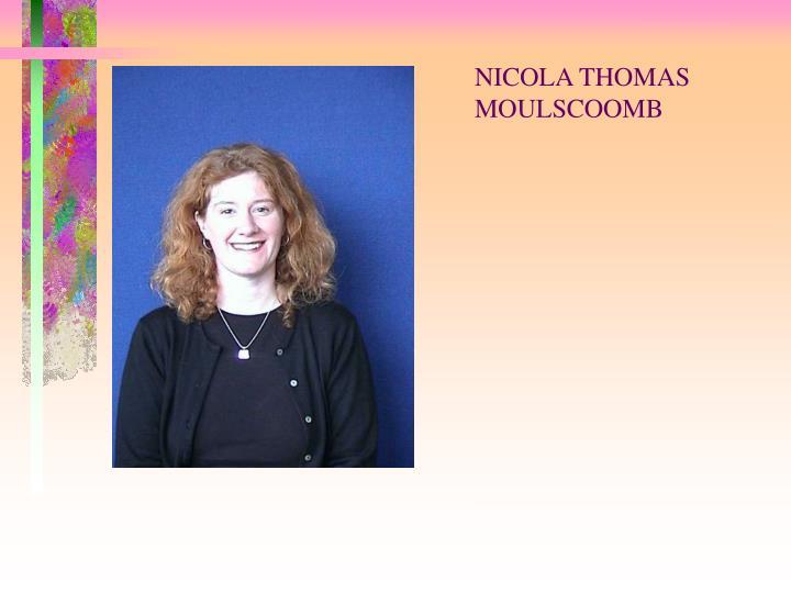 NICOLA THOMAS