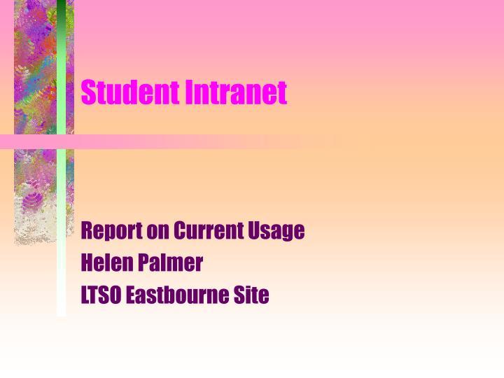 Student Intranet