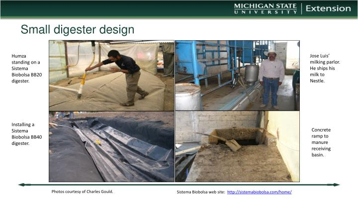 Small digester design