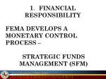 1 financial responsibility